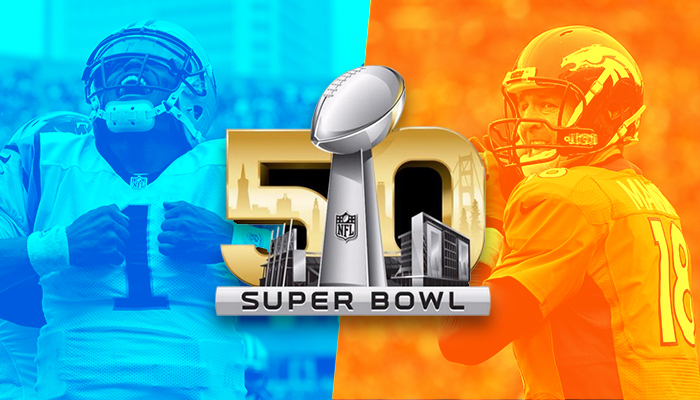 Denver Broncos vs. Carolina Panthers in Super Bowl 50